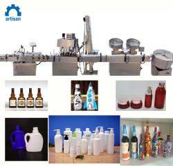 زجاجات عصير [غلسّ بوتّل] سائل يملأ خطّ شراب يعالج معدّ آليّ