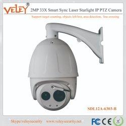 8インチ33X赤外線PTZのドームのDahuaの監視IPのカメラPTZ
