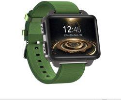 Deportes de los hombres Reloj inteligente del sistema operativo Android Ios 2.2 Pulgadas de pantalla táctil MT6580 1g + 16g de memoria, el GPS WiFi Monitor de Ritmo Cardíaco Gimnasio podómetro