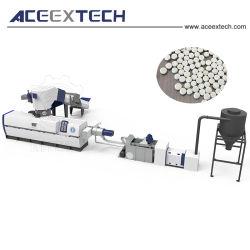 L'Europe film plastique de conception PE PEBD Recyclage/PP Sac tissé le bouletage /FLACON EN PEHD rectifier la granulation/ EPS HANCHES Granules ABS Making Machine