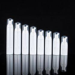 Bottiglia impaccante cosmetica di plastica della mousse della bottiglia della pompa del sapone della bottiglia della pompa della gomma piuma dell'animale domestico del campione libero della fabbrica