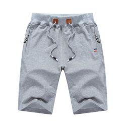 Напряжение питания на заводе OEM мода брюки хлопок Custom мужчин коротких замыканий и вышивкой логотипа коротких замыканий