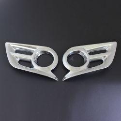 Materiale ABS copertura fendinebbia cromata per Hilux Vigo Champ 2012