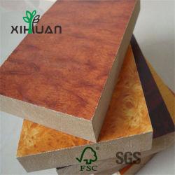 1220*2440mm de haut brillant feuille PVC décoratifs UV en marbre de ligne de production