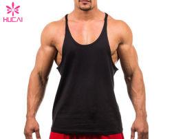 Het hete Hemd van de Langsligger van de Mensen van het Vest van de Gymnastiek van de Sport van de Manier Slanke Geschikte