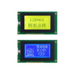 128X64 industriels LCD du panneau graphique de la matrice de points STN 20broches Affichage 12864 Module LCD à rétroéclairage LED