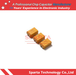 1206 3216 caso di 6.3V 10V 16V 6.8UF 6800NF 685 un condensatore di chip del tantalio di SMD