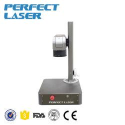 20W 소형 휴대용 섬유 레이저 마킹 기계 Pedb-100A