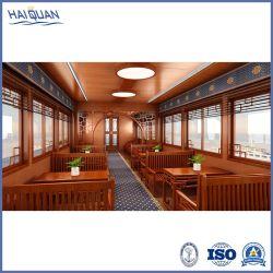 L'Art en bois de style chinois en acier ferry-boat pour le tourisme