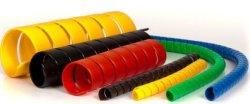 A luva protetora em espiral/proteção de mangueira para proteção do tubo de borracha hidráulico