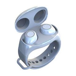 Oreillette Bluetooth HM50 Wrist Watch écouteurs sans fil de type 5.0 Sport casque mini-portables HM50