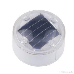 Het zonne Aangemaakte Glas van de Weg van de Verlichting Tellers om de Nagel van het Kristal van het Type