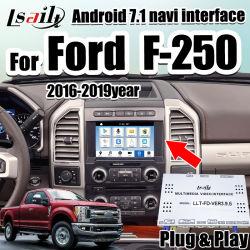 Android 7.1 GPS-Navigations-Kasten-Audiomultimedia-videoschnittstelle für Auto-Bildschirm-Aufsteigen 2016-2019 Ford-F-250 ursprüngliches