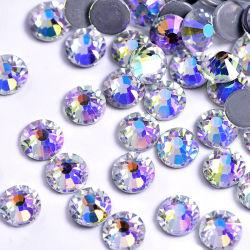 Mayorista Kingswick 2088 Cortar Moonlight Hot Fix Estrás Motivos de la transferencia de calor Strass Flatback cristales