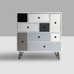 De estilo francés simple Nuevo diseño moderno de madera de buena calidad de cajón pecho
