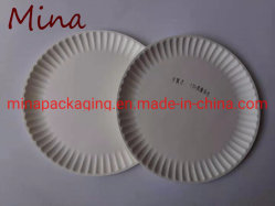7 polegada 9 polegada de diferentes tamanhos de papel cartão papel branco sobremesas da Placa de Transporte