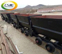 Транспортной тележке угольной промышленности с фиксированной железнодорожной платформы