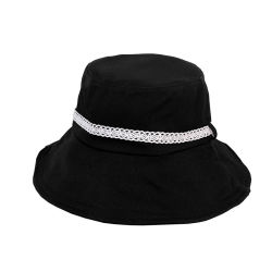 Chapeaux de godet réversible pour les femmes Vintage pêcheur Rollable chapeaux de Sun