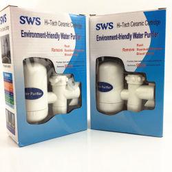 Purificateur de filtre à robinet d'eau en céramique.