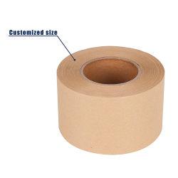 Una buena calidad de agua de mojado de cinta de papel Kraft con el logotipo de impresión