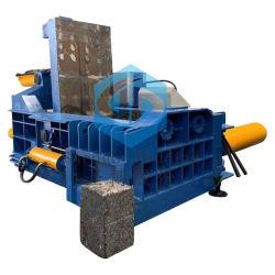 As latas de alumínio automática hidráulica Aparas de cobre enfardadeira de sucata de aço