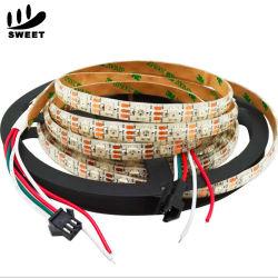 Ws2812b 60ピクセルLEDストリップWs2811b RGB一定のWasserdicht LEDデジタルのストリップ