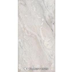 半透明な石は壁の装飾のためのアラバスターの石にパネルをはめる
