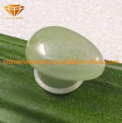 Form-natürliche Steinkarosserien-Schmucksache-Karosserie, die Newpeach grünen Teardrop-Stein-Stecker Spl1976 durchbohrt