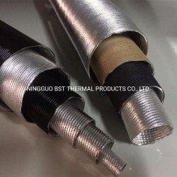 Hittebestendige Aluminium Fiberglass Paper Air Conditioner Flexibele Pijp