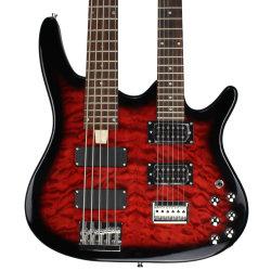 Réglage Chaîne de cou Talon 5 cou double Bass Guitar