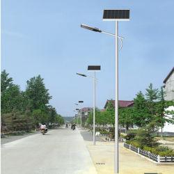 Bon marché en plein air IP65 Mini tous dans un module Motion Rue lumière LED solaire de jardin avec pôle 20 Watt