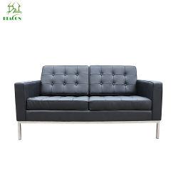 Diseño de sofá moderno mobiliario de Casa de ocio Florencia Knoll sofá 2 plazas