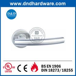 Poignée du levier de tube de la porte de gros avec la certification CE (DDTH013)