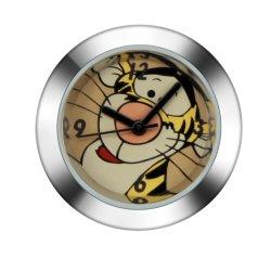 Horloge murale en acier inoxydable de cadeau de retour du Japon montre à quartz horloge (JY-BE006)