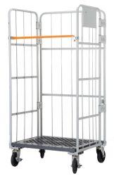 Almacenamiento lateral jaula plegable de 3