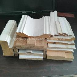 Apprêté de moulures de bois mixte Corniche de doigt