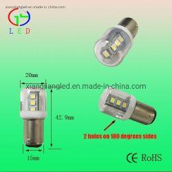 T20 LED Ba15d indicateur Lampes pour équipements électriques, LED Ba15s/BA15D Auto ampoules LED Lampes, Bayomet véhicule