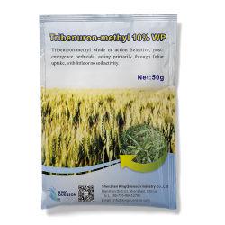 Быстрая доставка лиственных Сорняками Tribenuron-Methyl 10% Wp Weedicide
