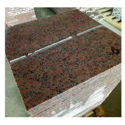 中国の自然な石造りの黒またはピンクまたは黄色いか平板のためのブラウンか緑または赤または白または青か灰色の磨かれた花こう岩かタイルまたはカウンタートップまたはモザイク
