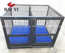 Una buena calidad criadero de perros de servicio pesado de la jaula de perro perro cajas para la venta