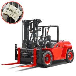 5 ton contrapeso Diesel Carro com as braçadeiras do Rolo