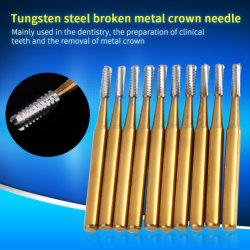 Taglierina rotativa del tungsteno di Burs del carburo per Handpiece dentale ad alta velocità