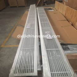 Griglie lineari della barra di aria degli strumenti di HVAC delle lamierine fisse di ritorno della griglia