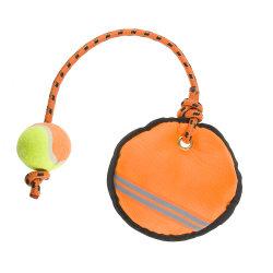 Оксфорд ткань Пэт собака Squeaker игрушка собака бит буксира игрушки с веревки и теннисный мяч