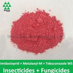 Imidacloprid 20% + Metalaxyl-M 20% +殺虫剤の殺虫剤のTebuconazole 2% Ws