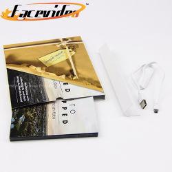 Мода дизайн печати 7 дюймовый ЖК-экран видео журнал музыкальный бизнес Карта Видео брошюры в салоне для маркетинга подарок