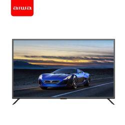 D18 43インチのAiwaのフラットスクリーン超細い人間の特徴をもつスマートなLCD LED TV、ハイファイ音楽TV