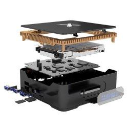 A95X 최대 4+64GB 인조 인간 8.1 IPTV 상자 SATA 미디어 플레이어