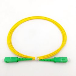 Der Faser-optischer Steckschnür-Hersteller-Singlemode Faser-G657A1 faser-Optiksteckschnür 2.0mm Kabel-Sc-APC Simplex3.0mm