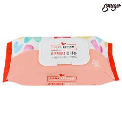 Jetables lingettes humides faciale mouchoir en papier pour tous les Cleaner